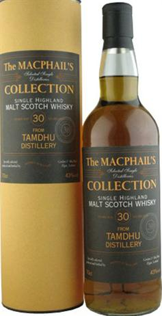 Tamdhu Scotch 30 Year